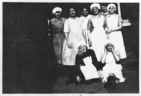 Staff and Ward Maids at Barry Accident Hospital