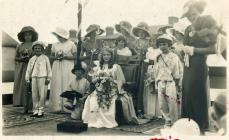 Carnival Queen and attendants, c.1938