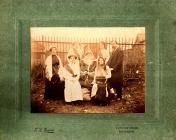 Group possibly at Rhayader Carnival, ?1925