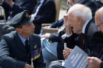 2. Squadron Leader Carl Rich with WW2 RAF...