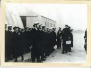 Image of WRNS / Wren on parade Dale Pembrokeshire