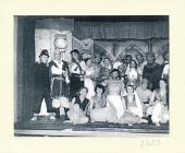Image of dramatic production cast at Harrier...