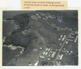 Aerial view of HMS Harrier Dale Pembrokeshire