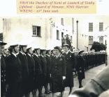 Image of Honour Guard at Tenby for the lifeboat...