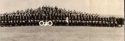 Image of naval parade Dale Pembrokeshire