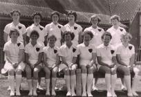 Cricket Team of former HMS Harrier personnel...