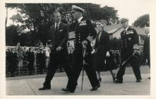 Image of Prince Philip on a Royal Visit Dale...