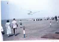 Image of helicopter display at Navy Days Dale...