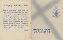 Prayer Card Dale Pembrokeshire
