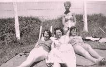 Image of WRNS / Wrens off duty Dale Pembrokeshire