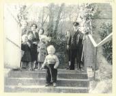Wedding day photograph at Dale Church 1953