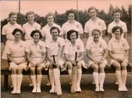 Image of WRNS / Wrens in their cricket whites...