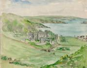 Image of painting of Dale Castle Pembrokeshire