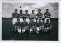 Image of Naval Personnel Kete Football Team...