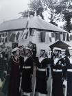 Image of Naval Personnel with Queen Elizabeth...