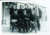 Image of Naval Personnel with the Book Group...
