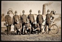 Somersetshire Constabulary in the Rhondda.
