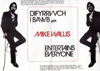 Center page of 'Mike Wallis Entertains&...