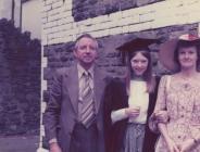 Graduation photograph of Karen Lansdown, 1978