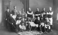 Wales vs Scotland team 1883