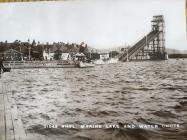 Rhyl Marine Lake and water chute