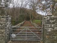 Bridge to NE of Aberffrwd