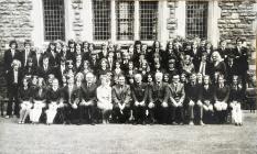 Final year 6th form, Ardwyn Grammar School,...