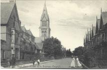 Stryd Y Baddon ac Eglwys Sant Thomas ar...