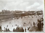 Open air swimming baths, Rhyl c.1930s