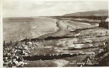 Rhyl East Beach 1945