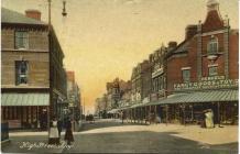 Stryd Fawr, Y Rhyl 1909
