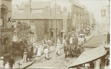 Rhyl High Street 1917