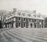 BODFACH HALL, LLANFYLLIN, 1911
