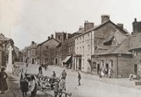 LLANFYLLIN HIGH STREET c.1926
