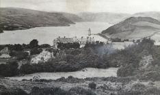 Llyn Efyrnwy a'r Gwesty, Llanwddyn c.1914