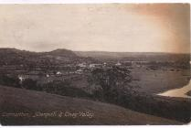 Photograph possibly a postcard of Carmarthen...