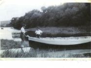 Image of Cleddau pleasure steamer at Llangwm...