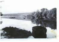 The River Cleddau at Llangwm Pembrokeshire