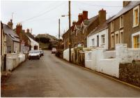 Photograph of Main Street Llangwm Pembrokeshire