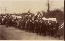 Photograph of a march Llangwm Pembrokeshire