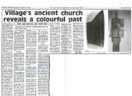 Village's Ancient Church reveals a...