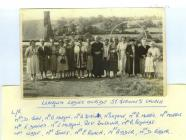 Copy of a group of ladies taken outside St...