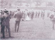 Photograph of Yeomanry Church Service Penally...