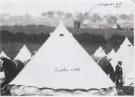 Penally Camp  Pembrokeshire 1907