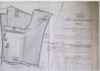 Plan of Penally Hut Encampment Pembrokeshire