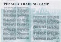 Penally Training Camp History Pembrokeshire