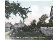 Photograph of south View of Lydstep Village...