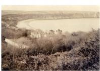 Copy of a photograph of Lydstep House Penally...