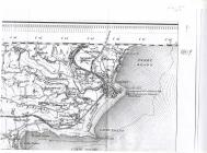 Map showing detail of Tenby and Penally 1909