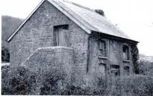Photograph of an old building at Penally Court...